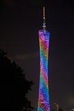 Башня Гуанчжоу Стоковая Фотография RF