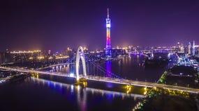 Башня Гуанчжоу Стоковые Изображения RF