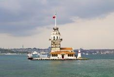 Башня девушки Стоковая Фотография