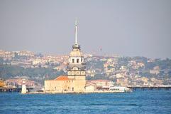башня девушки istanbul Стоковое Изображение RF