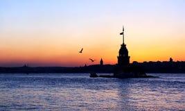 башня девушки istanbul Стоковое фото RF