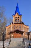 башня деревянная Стоковые Фото