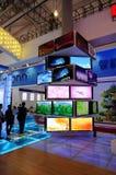 Башня дисплея LCD на WCIF 2012 Стоковое Изображение