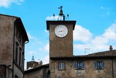 Башня дозора Orvieto стоковое фото rf