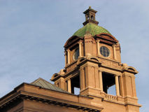 башня дома суда Стоковые Изображения