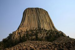 башня дьявола s стоковая фотография rf