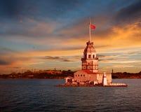 Башня девушки Стоковые Фото