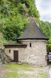 Башня замка в лесе Стоковое Изображение