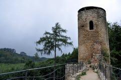 Башня замка Стоковые Фотографии RF