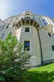 Башня замка Hluboka nad Vltavou стоковая фотография