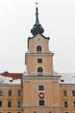 Башня замка Lubomirski в Rzeszow, Польше Стоковые Фотографии RF
