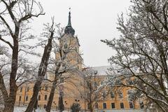 Башня замка Lubomirski в Rzeszow, Польше Стоковые Изображения