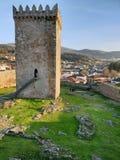 Башня замка Melgaço i стоковое фото rf