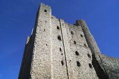 Башня замка Rochester в Англии Стоковые Фотографии RF