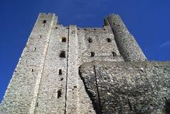 Башня замка Rochester в Англии Стоковые Изображения RF