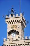 башня замока старая стоковые фото
