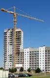 башня затяжелителя крана колонки одиночная Стоковые Фото