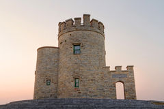 башня захода солнца briens o Стоковые Фотографии RF