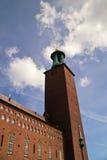 башня здание муниципалитет Стоковые Фотографии RF