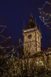 Здание муниципалитет Праги Стоковое Изображение RF