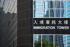 Башня иммиграции Стоковые Фото