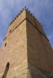 башня испанского языка замока Стоковые Изображения