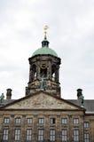 Башня исторического здания в Амстердаме Стоковые Фотографии RF
