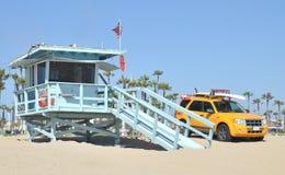 Башня личной охраны на Санта-Моника Стоковые Фото