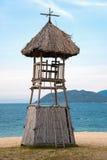 Башня личных охран на пляже Стоковая Фотография RF