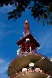 Башня и антенны радиосвязей Стоковая Фотография RF
