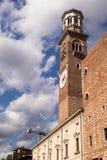 Башня и небо Стоковые Фотографии RF