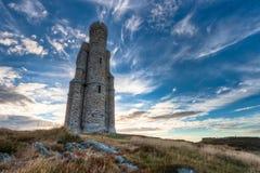 Башня и драматическое небо Milner Стоковые Фотографии RF