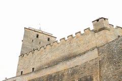 Башня и стены замка Kost стоковое фото rf