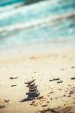 Башня камешка Стоковые Фото