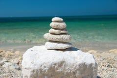 башня камней Стоковые Изображения