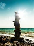 Башня камушка Стоковое Изображение