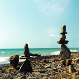 Башня камушка Стоковое Фото