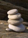 башня камушков Стоковые Изображения RF