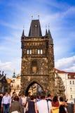 Башня Карлова моста старая Стоковая Фотография RF