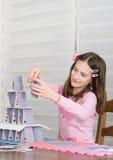 Башня карточек Стоковые Изображения RF