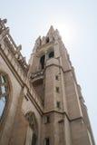 башня католической церкви Стоковое Фото
