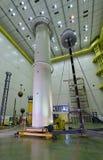 Башня катушки Incredibile высокая Tesla Стоковое Изображение RF