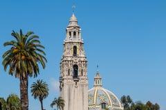 Башня Калифорнии и купол музея здания человека Стоковое Изображение RF