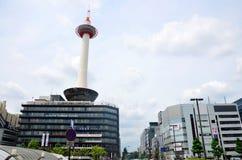 Башня Киото в Киото, Японии Стоковое Изображение RF
