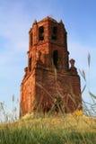 башня кирпича колокола Стоковые Изображения