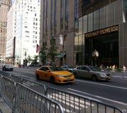 Башня козыря, Нью-Йорк, NYC, NY, США Стоковые Изображения