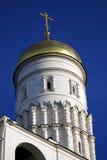 башня колокола большая ivan kremlin moscow Место всемирного наследия Unesco Стоковая Фотография