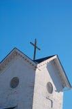 башня колокола перекрестная Стоковое Изображение