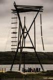 Башня команды 22 метров высокая для деятельностей при спорта, расположенная на l Стоковая Фотография RF