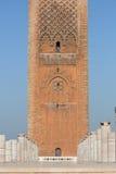 башня короля Марокко hassan стоковые фотографии rf